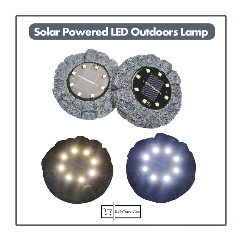 Solar Powered LED Outdoors Lamp