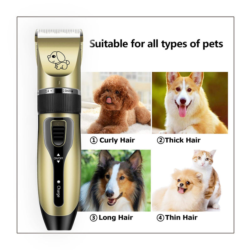 Low Noise Pet Hair Trimmer
