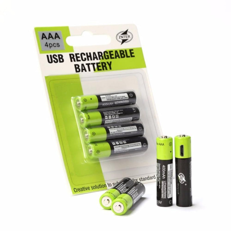 Rechargeable USB Battery 400mAh