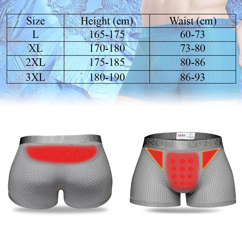 Magnetic Therapy Breathable Boxers