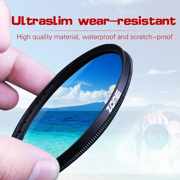 Professional Circular Polarizing Filter (CPL)