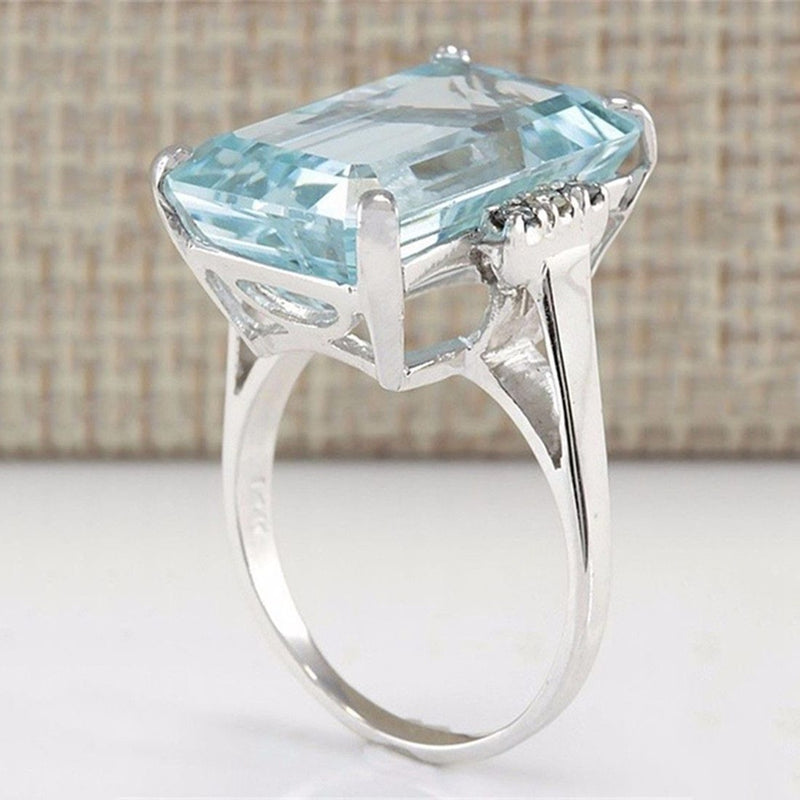 Cyrene - Cubic Zirconia Silver Ring