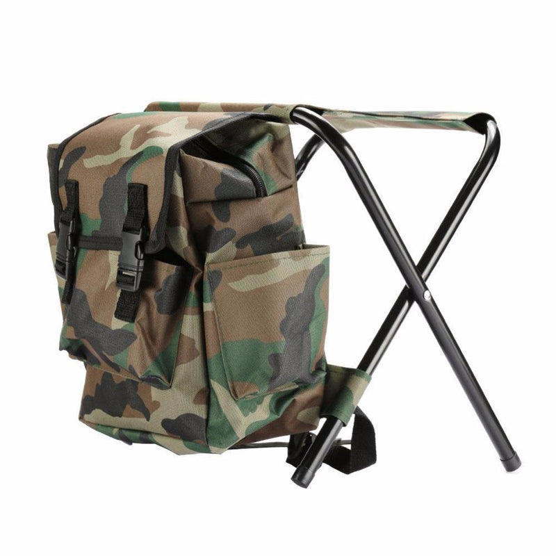 Foldable Camo Backpack Chair