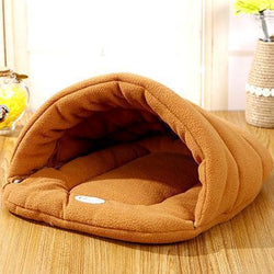 Warm Fleece Pet Bed For Winter