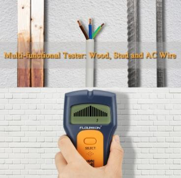 STUD FINDER - STUD, PIPES AND WIRES WALL SCANNER