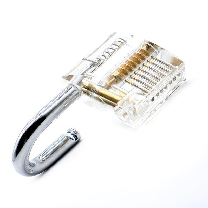 Transparent Lock Pick Training Set