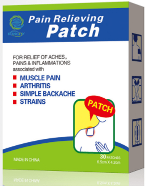Miracle Pain Relief Patch