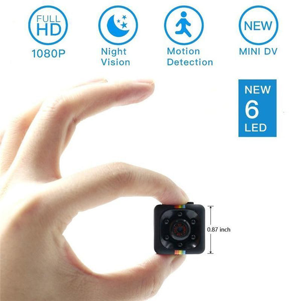 HD 1080P Mini Spy Camera With Night Vision