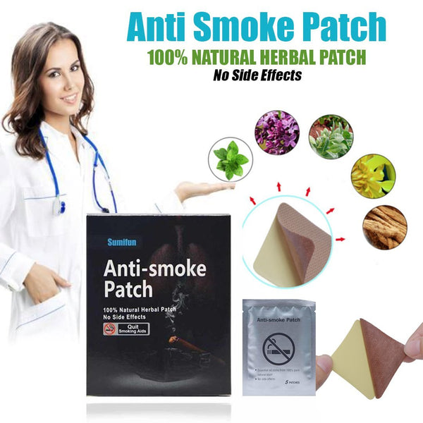 Miracle Anti-Smoking Patch (35 Patches/Set)