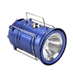 Solar-Powered LED Lantern Charger
