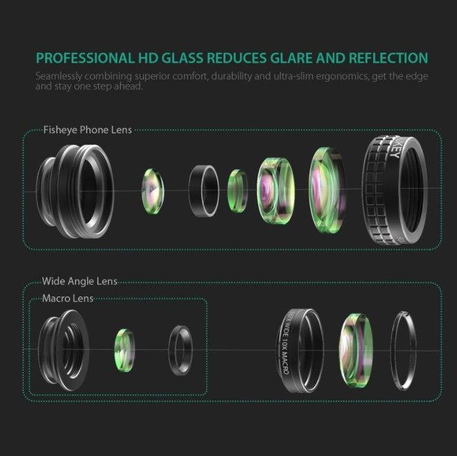 Premium Fisheye Lenses For Mobile Phone