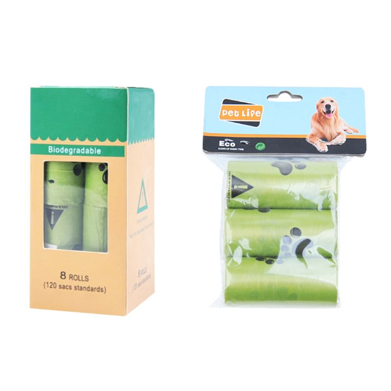 Dog Waste Poop Bags Biodegradable Home Kitchen Trash Bag - ecartts