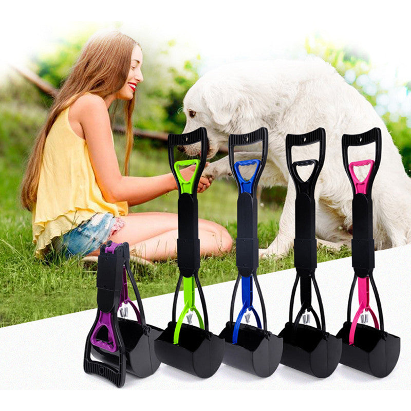 Dog Popper Scoopers 1pcs Foldable 30/60cm Pet Puppy Cat Poop Scoop Cleaner - ecartts