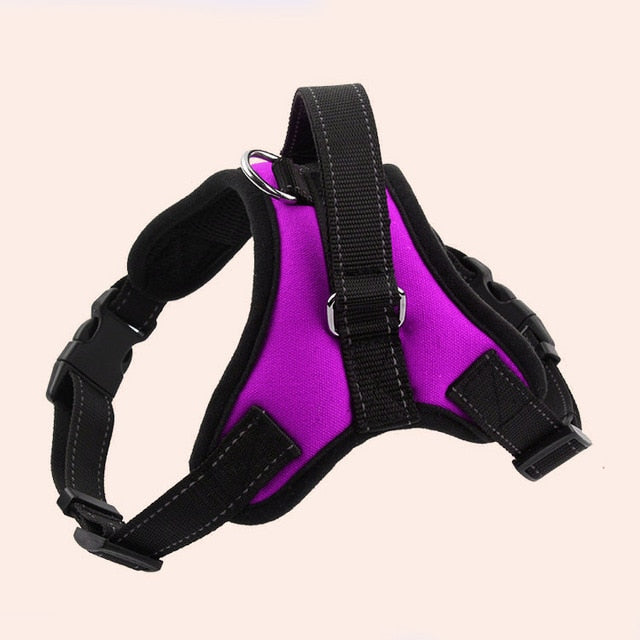 Heavy Duty Dog Pet Harness Collar Large Medium Small Dog Harnesses - ecartts