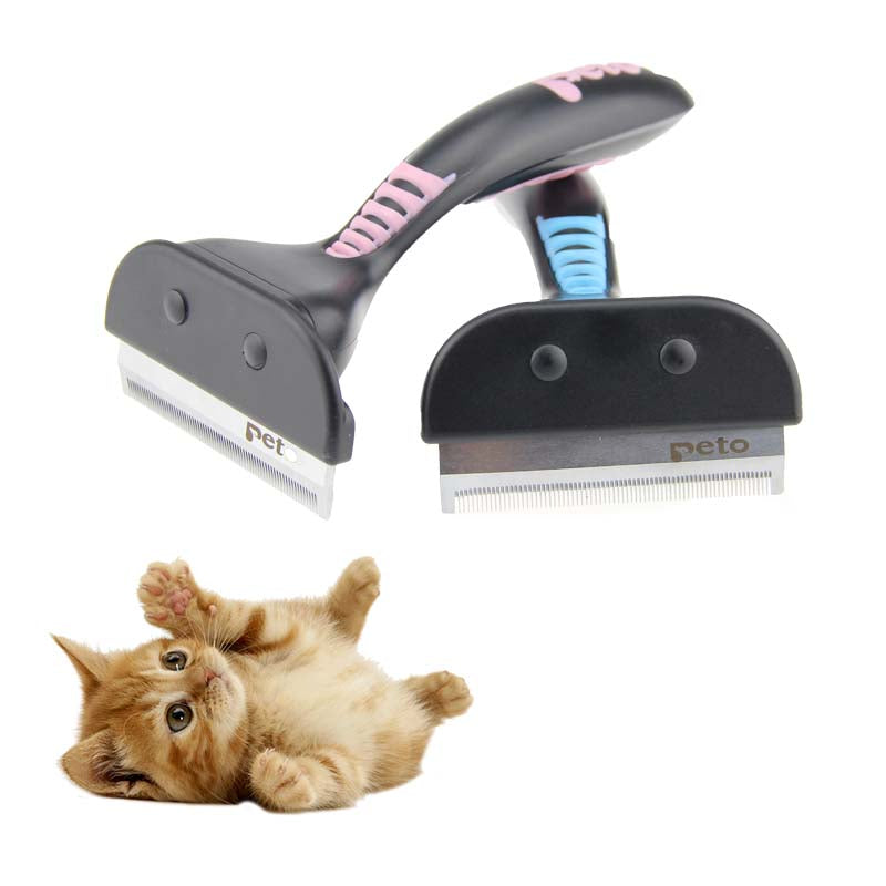 Pet Hair shedding Comb Pet Dog Cat Brush Grooming Tool Furmins Hair Removal Comb For Dogs Cats - ecartts