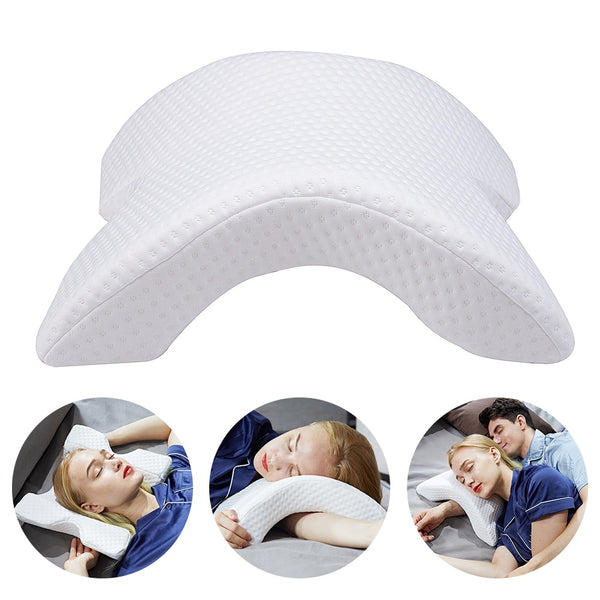 Pillow Anti-pressure Hand Pillow Neck Protection Slow Rebound