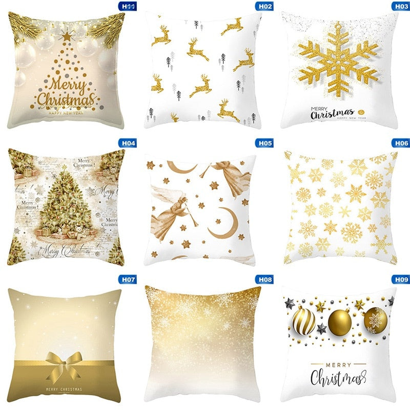 Christmas Pillow Case Cushion Cover - ecartts