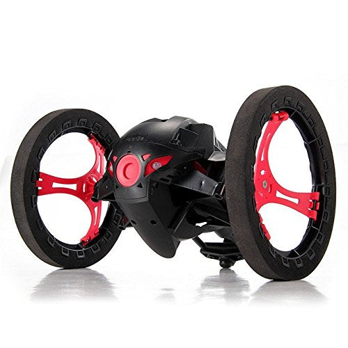 2.4G RC Radio Drone Jump High Bounce Car with Flexible Wheels - ecartts