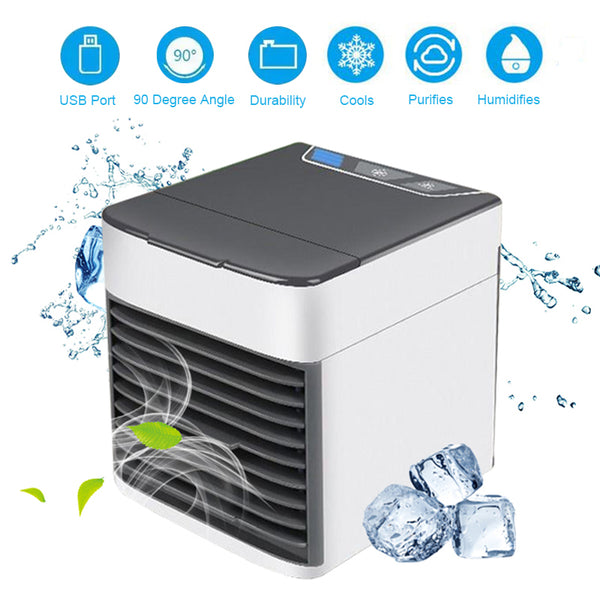 Award Winning Product - 3 in 1   -  Mini portable Air Conditioner USB