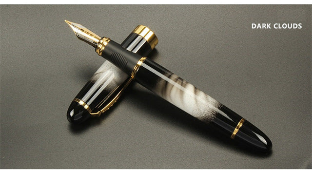 High quality Iraurita Fountain pen Full metal Golden Clip luxury pens Jinhao 450 Caneta Stationery Office school supplies A6293 - ecartts