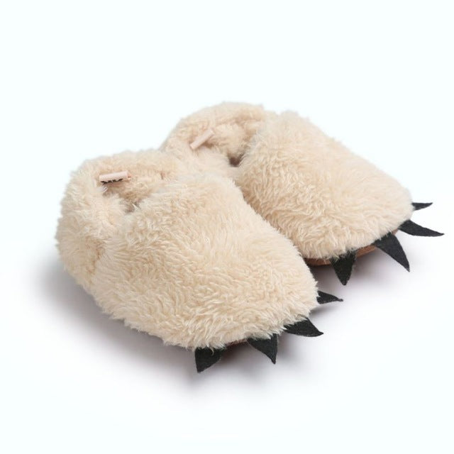 'Monster' paw first walker slippers - ecartts