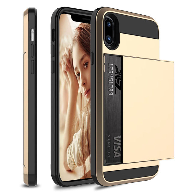 ULTRA-SHOCKPROOF IPHONE CARD SLOT CASE - ecartts