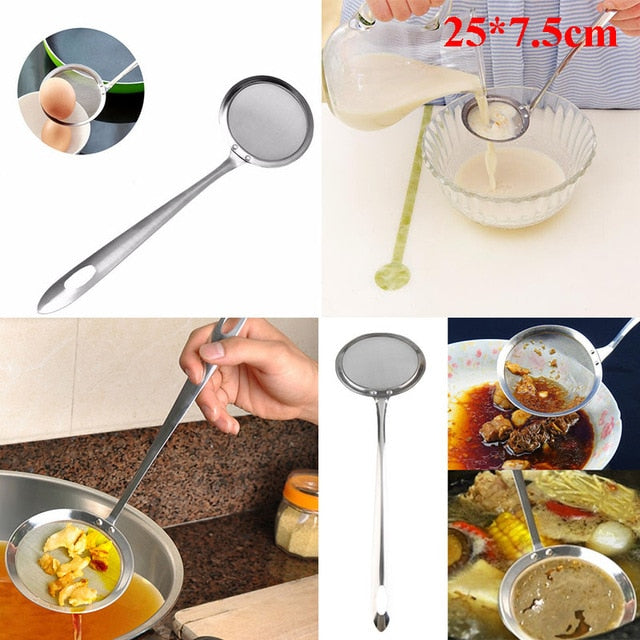 Scoop Colander Strainer Spoon - ecartts