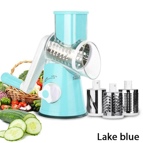 Vegetable Cutter Round Mandoline Slicer Potato Carrot Grater Slicer
