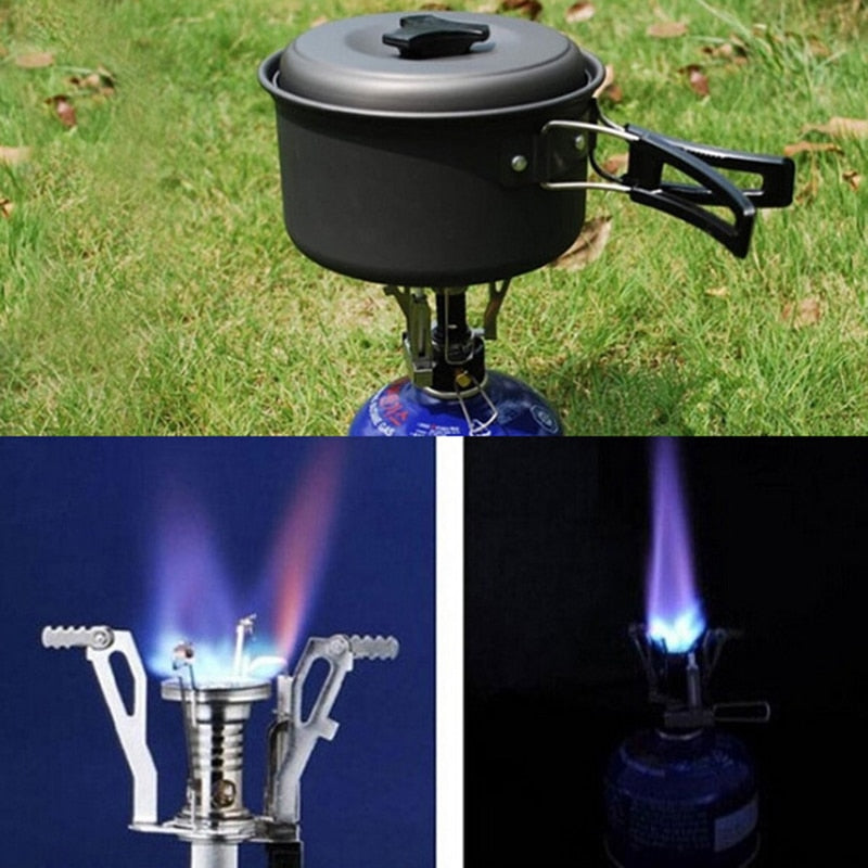Mini Camping Stoves - Folding Outdoor Gas Stove - ecartts