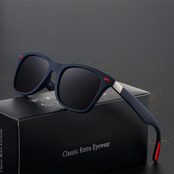 Sunglasses Men Polarized Women Driving Square Frame Sun Glasses Male Goggle Shades Female - ecartts