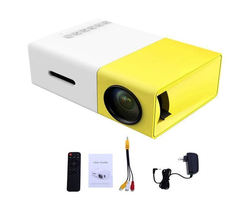 Ultralight LED Portable Pocket Projector