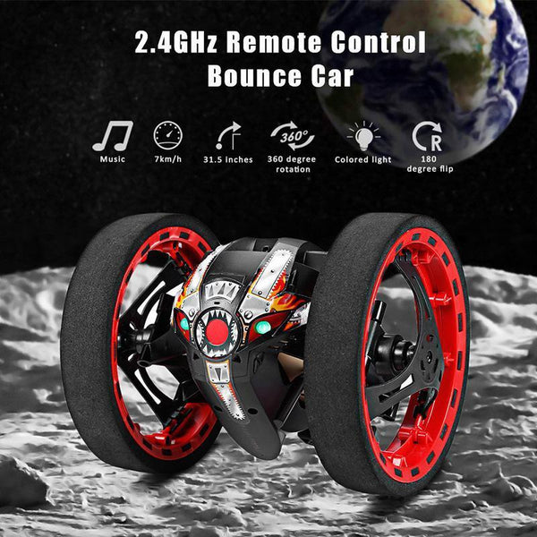 2.4 GHZ Smart Wireless Jumping RC Car
