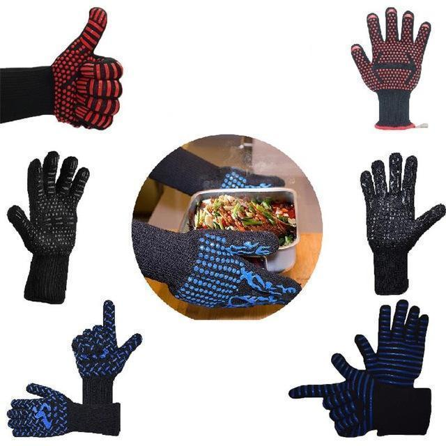 Fireproof BBQ Heat Resistant Gloves