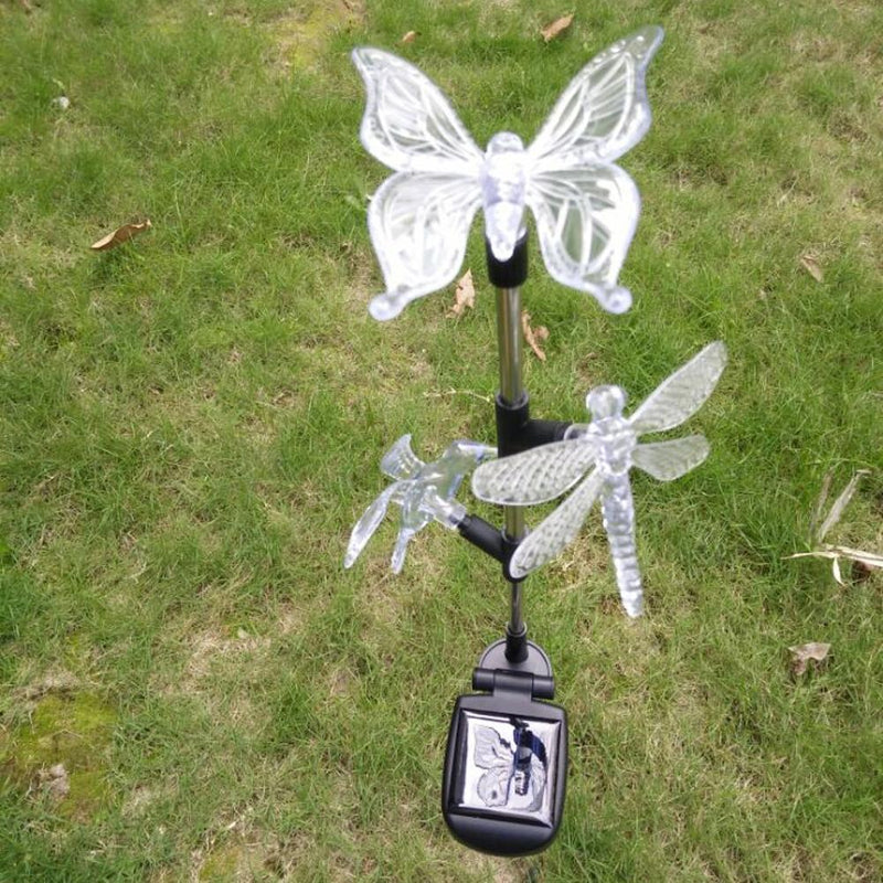 Butterfly LED Solar Powered Chime