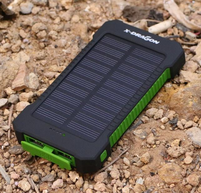 Solar Power Portable Charger (10,000 MAH)