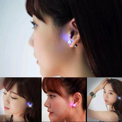 LED Crystal Light Up Earrings
