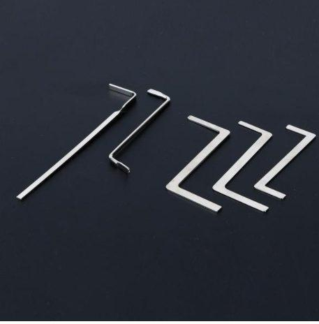 Stainless Steel Lock Picker (5 Pieces)