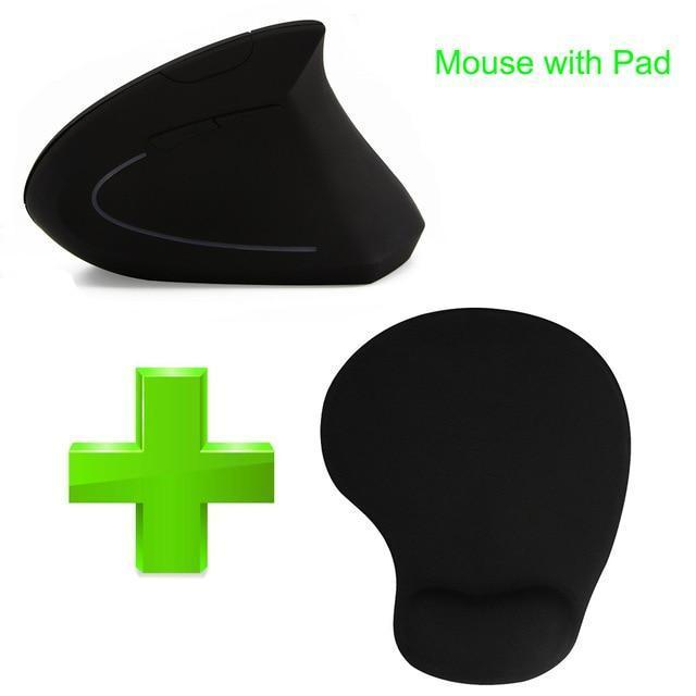 Vertical Ergonomic Wireless Mouse