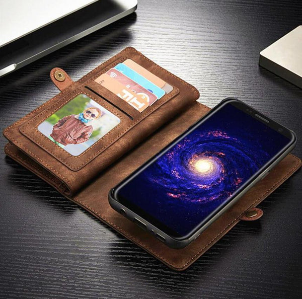 Luxury Magnetic Wallet Phone Case (Samsung)