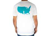 white USA Fishing Shirt