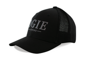 Flex Fit Fishing Hats. Ogie™ Fishing. Logo Hats. Camo Fishing Hats. Fishing hook logo. Antler fish hooks.