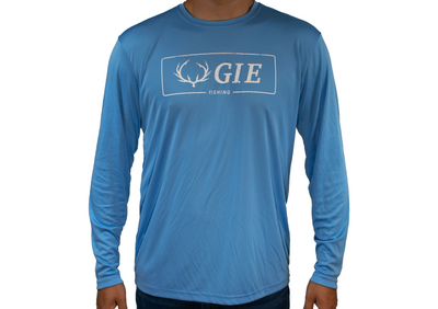 High quality performance fishing shirts. Long sleeve Moisture Wicking fishing shirts. Keep cool on hot days while protecting yourself from the sun.  Polyester fishing shirts. Moisture Wicking.