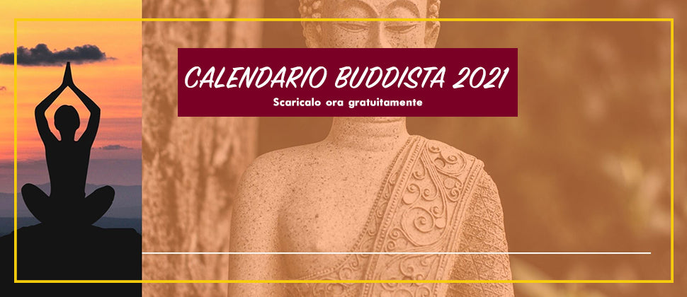Calendario Buddista 2021 di WinjaOm