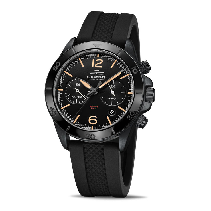 Rotorcraft Air Boss RC1203 Multifunction Dual time watch