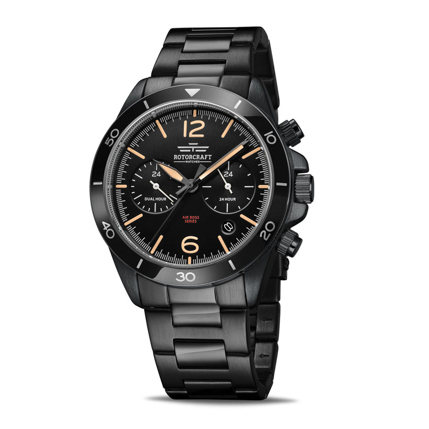 Rotorcraft Air Boss RC1205 Multifunction Dual time watch