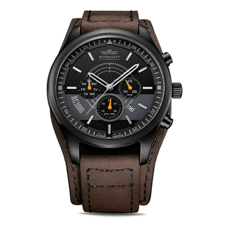 Rotorcraft Mayday RC6001 Multifunction Dual time watch