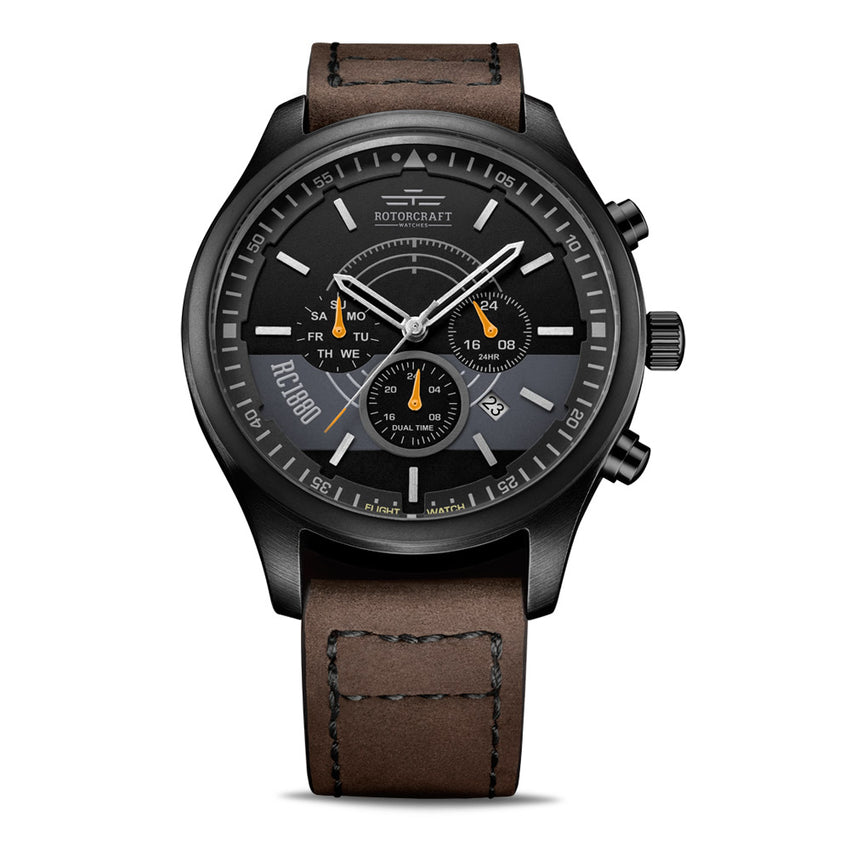 Rotorcraft Mayday RC6002 Multifunction Dual time watch