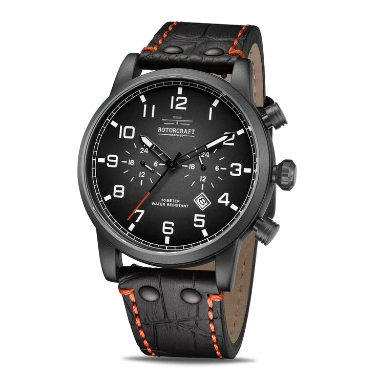 Rotorcraft Base RC1302 Limited Edition Multifunction Dual time watch
