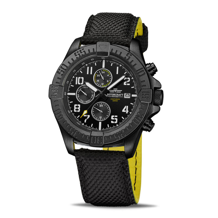 Rotorcraft Centurion RC1101 Multifunction Dual time watch