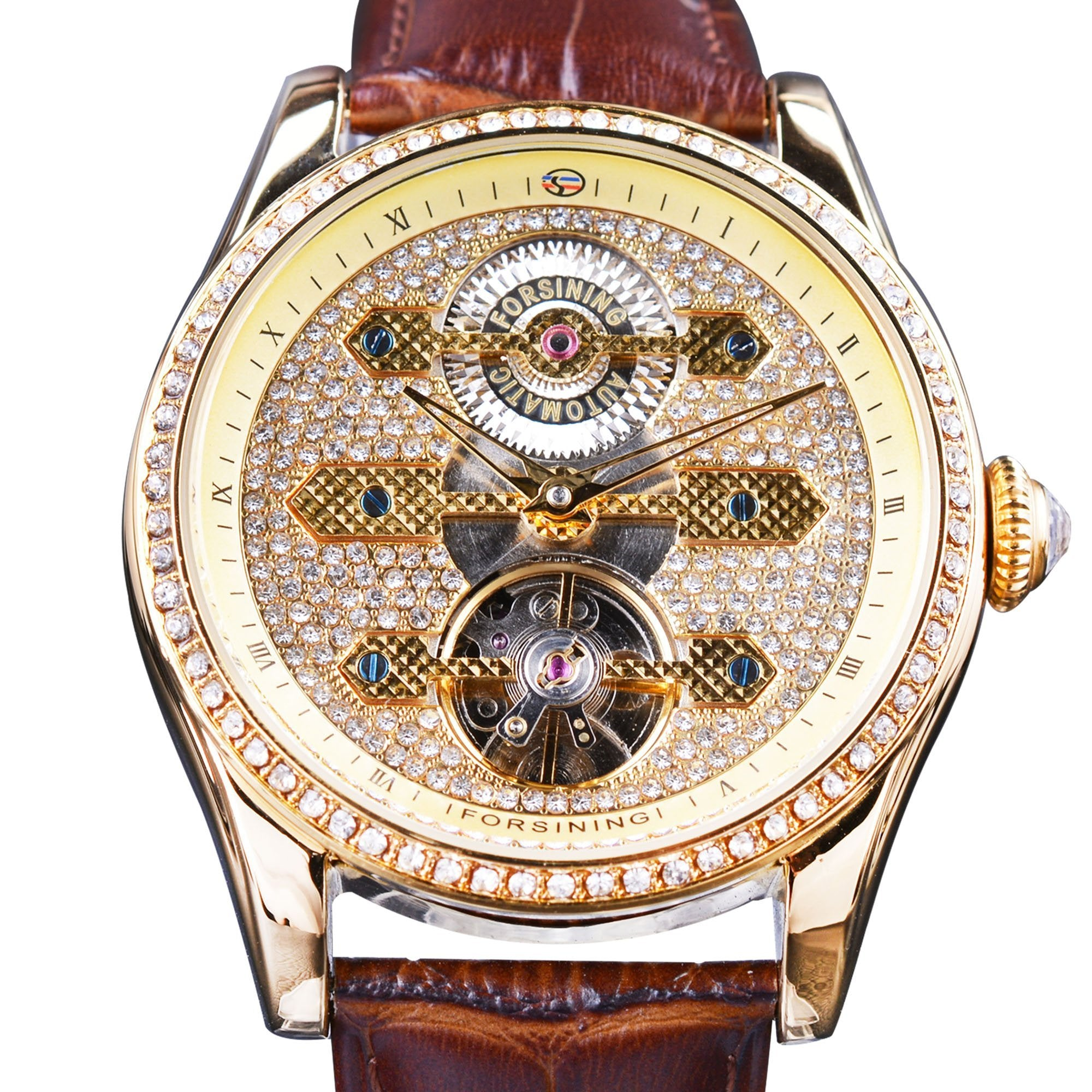 gold description and color itm sapphire watches item watch moritz rainbow chopard multi st images yellow diamond